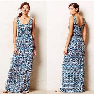 EUC Vanessa Virginia Tidal ikat maxi dress